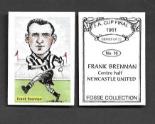 Newcastle United Frank Brennan Scotland 16 (FC)
